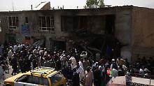 Blutiger Anschlag in Afghanistan: Attentäter verstecken sich unter Burkas