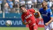 Elferglück und Gelb-Rot beim VfL: 1. FC Köln wackelt in Bochum und siegt