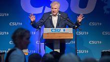 Einer der Gründe für das schlechte Standing der CSU: Horst Seehofer