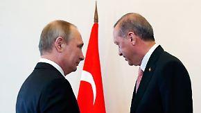Eskalation zwischen Türkei und USA: Nato-Militärs fürchten Erdogans Abkehr zu Putin