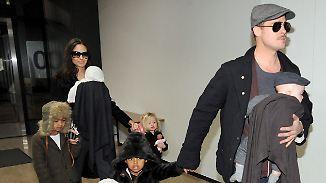 Promi-News des Tages: Jolies Schmutz-Trennung von Pitt vergrault Anwältin