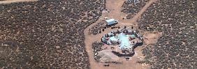 Aus vergrabenem Wohnwagen: US-Polizei befreit elf verwahrloste Kinder