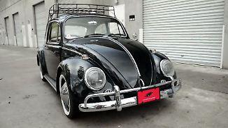 Elektrisierender Oldtimer: Dieser VW-Käfer ist eine optische Täuschung