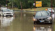 Starkregen beendet Hitze: Unwetter wütet in Hessen
