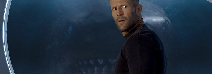 """""""Meg"""" - Unterwasserthriller ohne Tiefe: Jason Statham fordert gigantischen Urzeit-Hai zum Duell"""