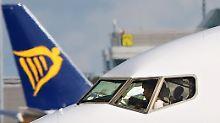 Größter Streik bei Billigflieger: Deutsche Ryanair-Piloten streiken am Freitag