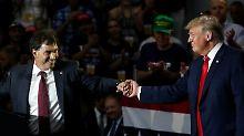 "Hoffnung auf die ""blaue Welle"": Die Demokraten kommen Trump näher"