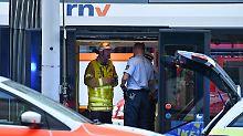 Im Mannheimer Berufsverkehr: 20 Verletzte nach Straßenbahn-Crash