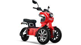 Beim iTango von Doohan handelt es sich um das Einstiegsmodell, welches von einem 1000 beziehungsweise 1200 Watt starken Bosch-Motor angetrieben wird.