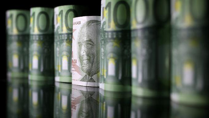 Die Lira hat seit Jahresanfang 40 Prozent ihres Wertes eingebüßt.