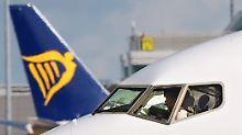150 Flüge gestrichen: Ryanair-Piloten streiken