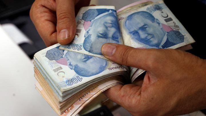 Mit 21 Milliarden Euro sind deutsche Banken in der Türkei engagiert.