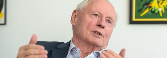 Oskar Lafontaine ist Fraktionschef der Linken im Landtag des Saarlands.