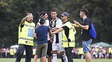 Alpendorf in Ausnahmezustand: Fans belagern Ronaldo bei Juventus-Debüt