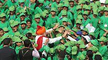 """75 Jahre unabhängig von Briten: """"Sohn oder Tochter Indiens"""" soll ins Weltall"""