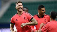 """""""Es ist nicht das erste Endspiel, das er verloren hat"""": Sergio Ramos."""