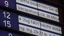 Im Juli 2017 hatte die Bahn noch 78,5 Prozent aller Fernzüge als pünktlich zählen können, dieses Jahr liegt die Quote mehr als sechs Punkte niedriger.