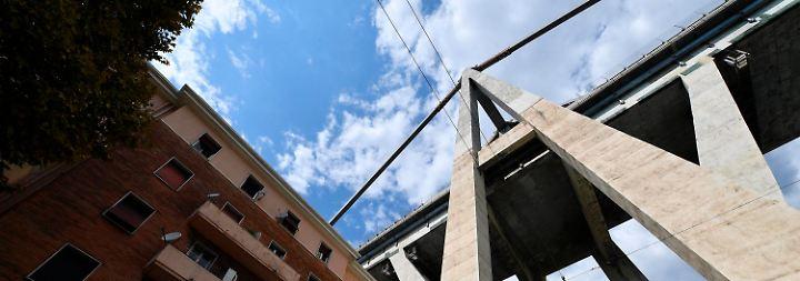 Brückeneinsturz in Genua: EU weist italienische Vorwürfe zurück