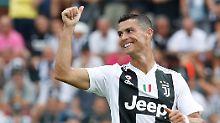 Höhepunkte der Auslandsligen: König Ronaldo legt los, Özil unter Druck