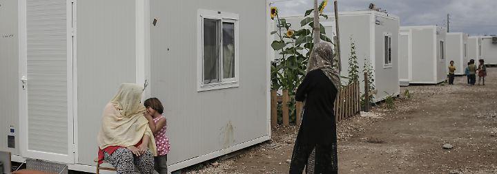 Afghanische Flüchtlinge in Griechenland.