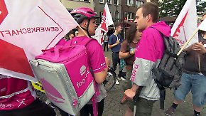 Deliveroo-Rückzug aus deutschen Städten: Essenslieferanten proben den Aufstand