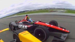 Wagen zerfetzt in Einzelteile: IndyCar-Fahrer bei Horrorcrash schwer verletzt