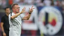 Fit für Zusatzbelastung Europa: Rangnick will RB Leipzigs Kader aufsplitten