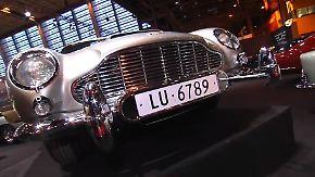Martin, Aston Martin: Legendärer DB5 kommt mit 007-Gadgets auf den Markt