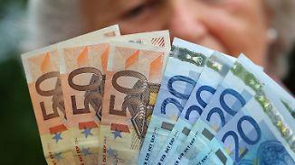 Inflation frisst Niedrigzinsen auf: Sparvermögen der Deutschen schrumpft