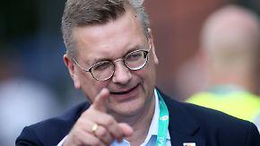 DFB vor Krisengipfel: Grindel distanziert sich von Bierhoff