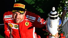 Wann kommt der neue Kollege? Sebastian Vettel.
