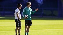 Neubeginn nach WM-Blamage: Liga und DFB stützen Löw und Bierhoff