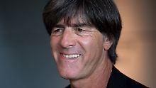 Relaxter Löw beim DFB-Präsidium: Von WM-Krise ist nichts zu sehen