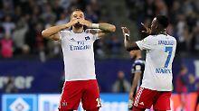 HSV kommt in Schwung: Lasogga-Show bringt Hamburg drei Punkte