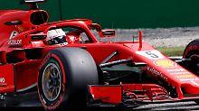 Letztes F1-Training in Monza: Vettel setzt Bestzeit, Hamilton macht Druck
