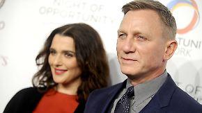 Promi-News des Tages: Daniel Craig und Rachel Weisz begrüßen Nachwuchs