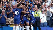 Der Sport-Tag: Dank Hazard: Chelsea hält mit FC Liverpool Schritt