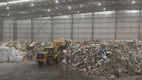 Zwei Fliegen mit einer Klappe: Australische Fabrik wandelt Müll in Energie um