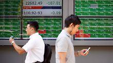 Der Börsen-Tag: Asien stoppt die Talfahrt - Hoffnung für den Dax