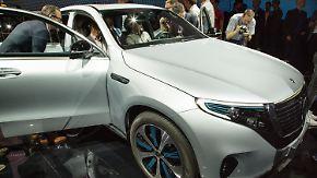 Kampfansage Richtung Tesla: Mercedes enthüllt neues Elektro-SUV EQC
