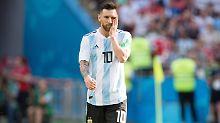 Kein Messi, kein Plan: Argentiniens Fußball versinkt im Chaos