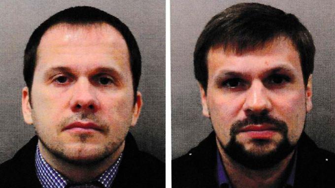 Die britische Polizei hat einen europäischen Haftbefehl für die beiden Männer beantragt. Wahrscheinlich nutzen sie Pseudonyme.