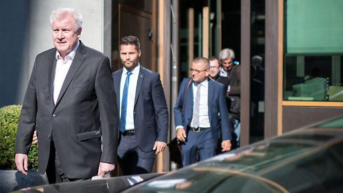 Als Minister ist Seehofer vor allem im Bundestag unterwegs, als Bürger wäre er das aber auch auf den Straßen von Chemnitz.