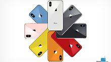 Bunte Vielfalt: Die neuen iPhones schillern in vielen Farben