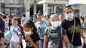 Erst elf Tage nach dem Chemieunfall ordneten die Behörden die Evakuierung an.