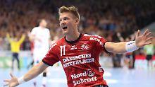 """Prestigesieg in der """"Hölle Nord"""": Flensburg gewinnt Handball-Krimi gegen Kiel"""