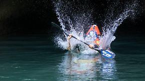 """Zu Lande, zu Wasser und in der Luft: """"Dolomitenmänner"""" stellen sich Extremsport-Wahnsinn"""
