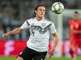 Debüt in der Nationalelf und gleich zum Matchwinner avanciert: Nico Schulz.