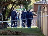 Fünf Tote: 3 Mädchen, die Mutter und die Großmutter wurden in diesem Haus tot aufgefunden.