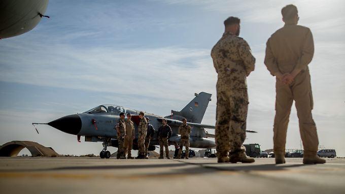 Deutschland ist bislang nicht an Luftschlägen gegen das Assad-Regime beteiligt gewesen.